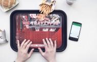 کمپین تبلیغاتی رستوران زنجیره ای KFC سینی تایپ کننده!