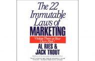 برندها می بایست از ۲۲ قانون تغییر ناپذیر برای مارکتینگ بهره ببرند