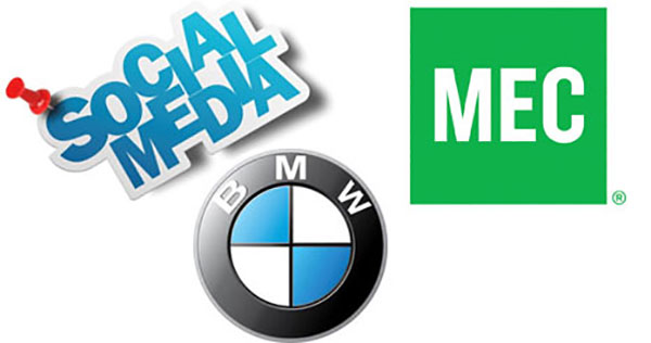 روش های بازاریابی در شبکه های اجتماعی توسط برندهای معروف مثل BMW و Mec و Apple